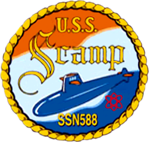 USS Scamp (SSN 588) Patch
