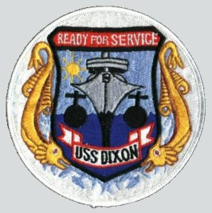"""Ships Patch - """"Ready For Service"""""""
